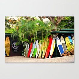 North Shore Surf '14 Canvas Print