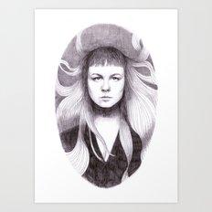 Sandy Denny Art Print