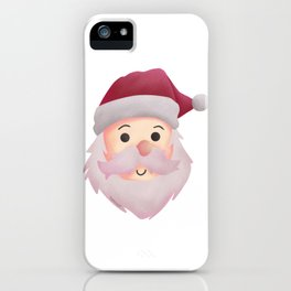 Santa Claus Winter Children Gift iPhone Case