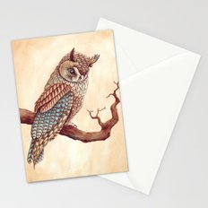 The Long Eared Owl Stationery Cards
