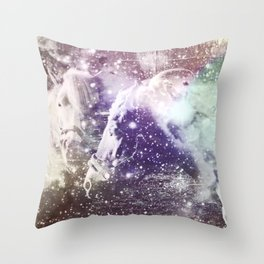 We could all be friends Throw Pillow