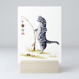 Gone Fish'en Mini Art Print