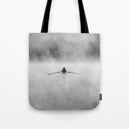 Rowing On The Chattahoochee Tote Bag