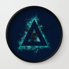 Fiery Spirit Wall Clock
