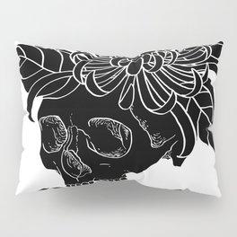 Lady Skull Pillow Sham