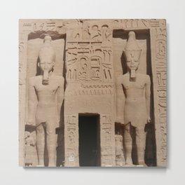 Abu Simbel 002 Metal Print