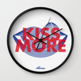 Kiss more Wall Clock