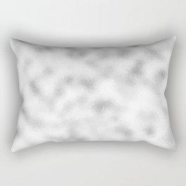 Frosty silver modern abstract background Rectangular Pillow