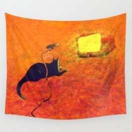 Listen to your TV Wall Tapestry