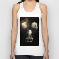 nick cave Tank Tops featuring Cave Skull by Ali GULEC
