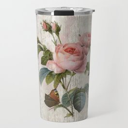 Roses Nostalgie Travel Mug