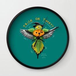 Trick or Tweet? Wall Clock