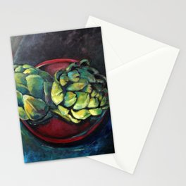 Artichokes Stationery Cards