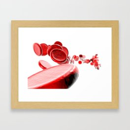 Cell Blood Framed Art Print