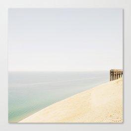 Pier 9 Lake Michigan Dune Canvas Print