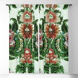Bouquet Floral Wallpaper Blackout Curtain