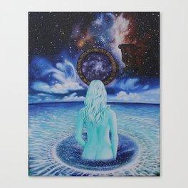 Ascension Stargate Canvas Print