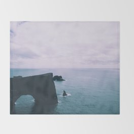 Ocean Arch Throw Blanket