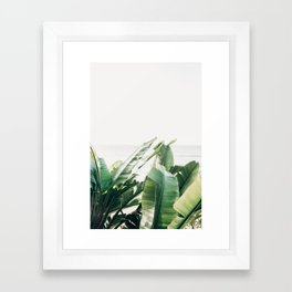 Pretty Palms Framed Art Print