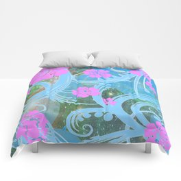 Floral Funky Comforters