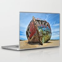 wreck it ralph Laptop & iPad Skins featuring Wreck by Dave Wilky