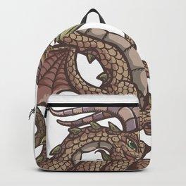 Danube river dragon Backpack