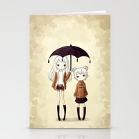 sisters Stationery Cards featuring Sisters by Freeminds