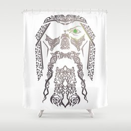 Odin Vikings Odinism Valhalla Nordic Mythology Shower Curtain