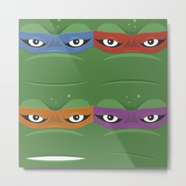 Teenage Mutant Ninja Turtles - TMNT Metal Print