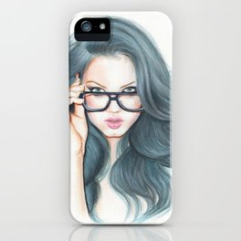 Lindsey iPhone Case