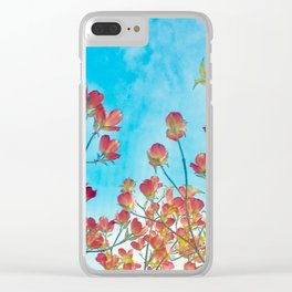 Dogwood Clear iPhone Case