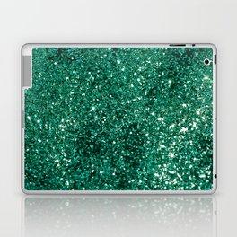 Sparkling EMERALD Lady Glitter #1 #shiny #decor #art #society6 Laptop & iPad Skin