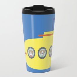 The Beagles - Yellow Submarine Travel Mug