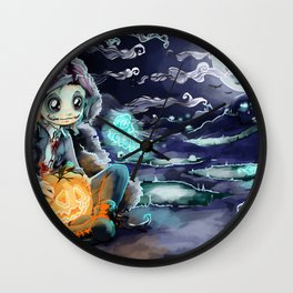Halloween 2017 Wall Clock