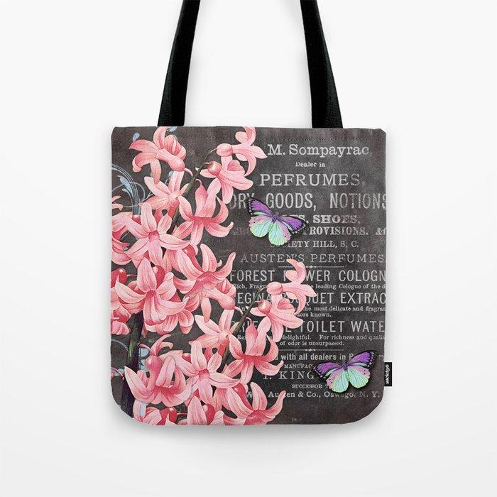Vintage Flowers #1 Tote Bag