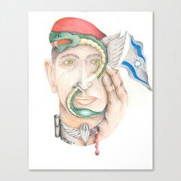 Israeli Paratrooper Canvas Print