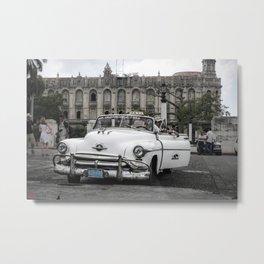 Taxi in Havana Metal Print