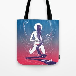 She's a River Tote Bag
