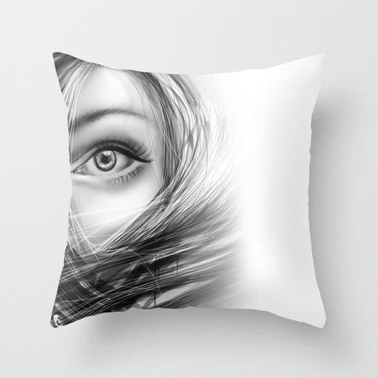 'Coz eye is never lie.... Throw Pillow