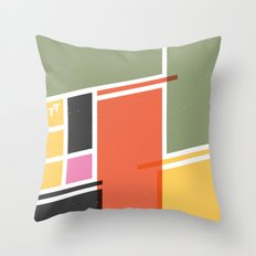SECRET CYCLING FLAG - VOIGT Throw Pillow