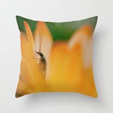 peakaboo Throw Pillow