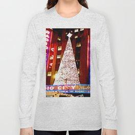 Radio City Music Hall Tree 2 Long Sleeve T-shirt