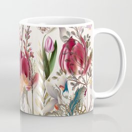 Bright spring field. Romantic pattern Coffee Mug