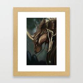 Astral Beast Framed Art Print