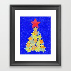 Tree of Stars Framed Art Print