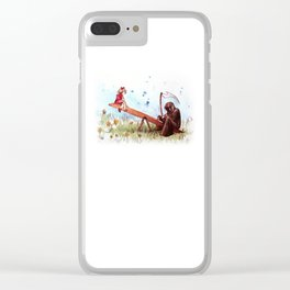 death's playground Clear iPhone Case