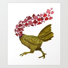 Pollo Art Print