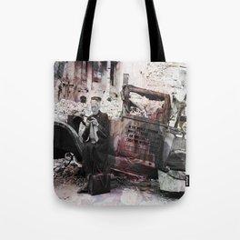 Endlessly creating myself (Berlin 1945) Tote Bag