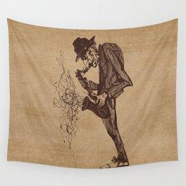 Jazzman Wall Tapestry