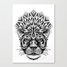 Trance tiger Canvas Print